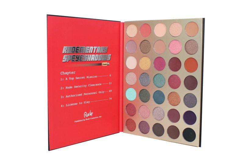 Rude Cosmetics Rudementary Speyeshadows 35 Eyeshadow Palette – Book 7 (RC-87977)