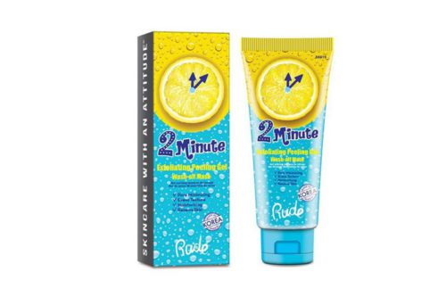 Rude Cosmetics 2 Minute Exfoliating Peeling Gel Wash Off Mask (RC-88019)
