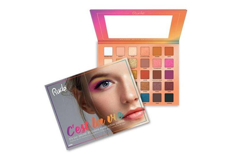 Rude Cosmetics C'est La Vie - 30 Eyeshadow Palette (RC-88008)
