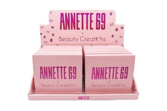 Beauty Creations Annette 69 Eyeshadow Palette Display (AE16)