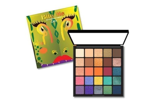 Rude Cosmetics 25 Color Eyeshadow Palette Bite Me - Croc (RC-87879)
