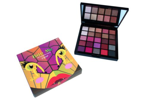 Rude Cosmetics 25 Color Eyeshadow Palette Bite Me - Viper (RC-87878)