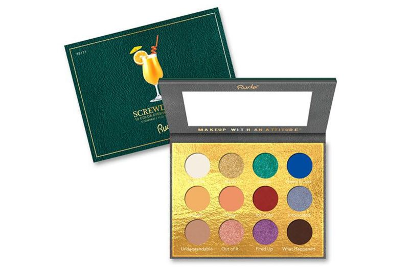 Rude Cosmetics Cocktail Party 12 Color Eyeshadow Palette - Screwdriver (RC-88177)