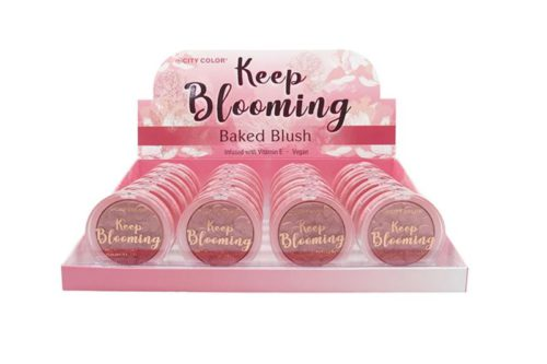 City Color Keep Blooming Blush - Chocolate Cosmo Display (C-0031B)
