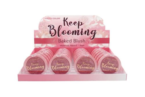 City Color Keep Blooming Blush - Sweet Blossom Display (C-0031A)