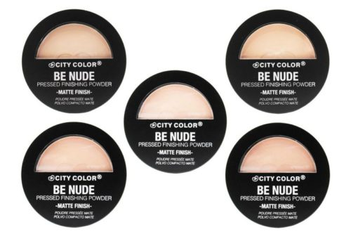 City Color Matte Pressed Powder 5 Shades Assorted (CCF-022-1-5)
