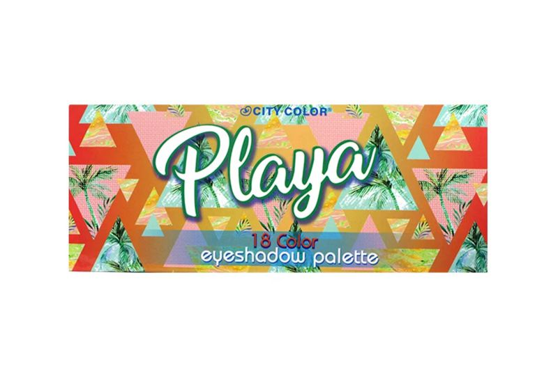 City Color The Playa Eyeshadow Palette Display (E-0085)
