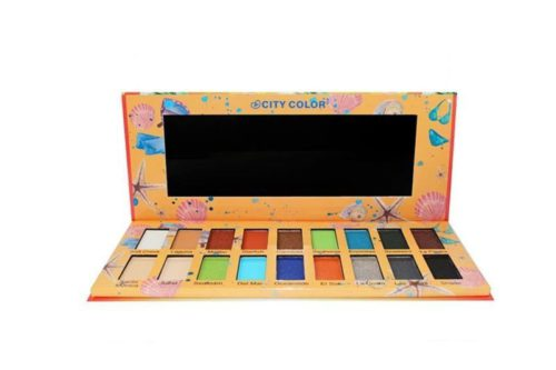 City Color The Playa Eyeshadow Palette Display (E-0085)