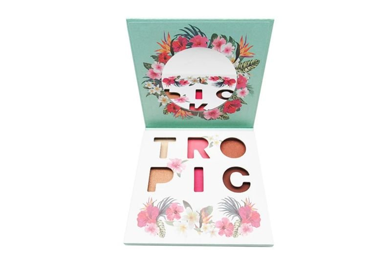 City Color Tropic Palette All-in-One Display (F-0106)