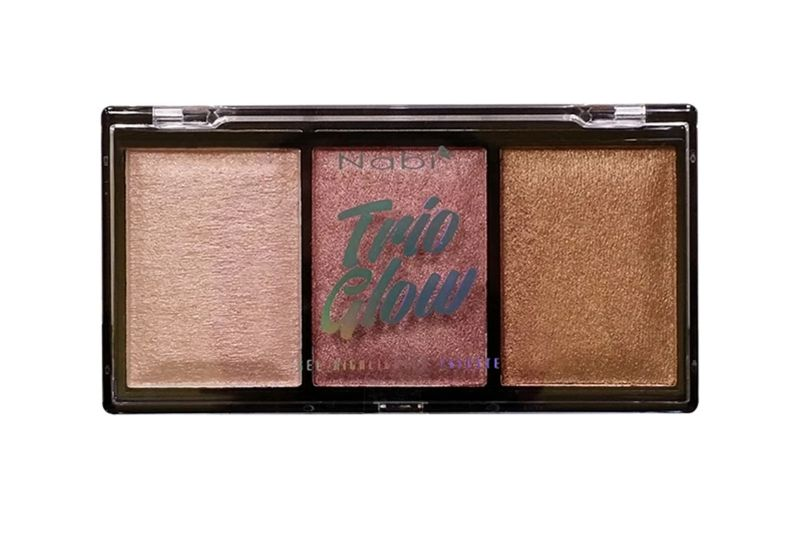 Nabi Trio Glow Gel Highlighter Palette Display (HLP-24)