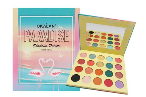 Okalan Paradise Eyeshadow Palette (OKL-E082)