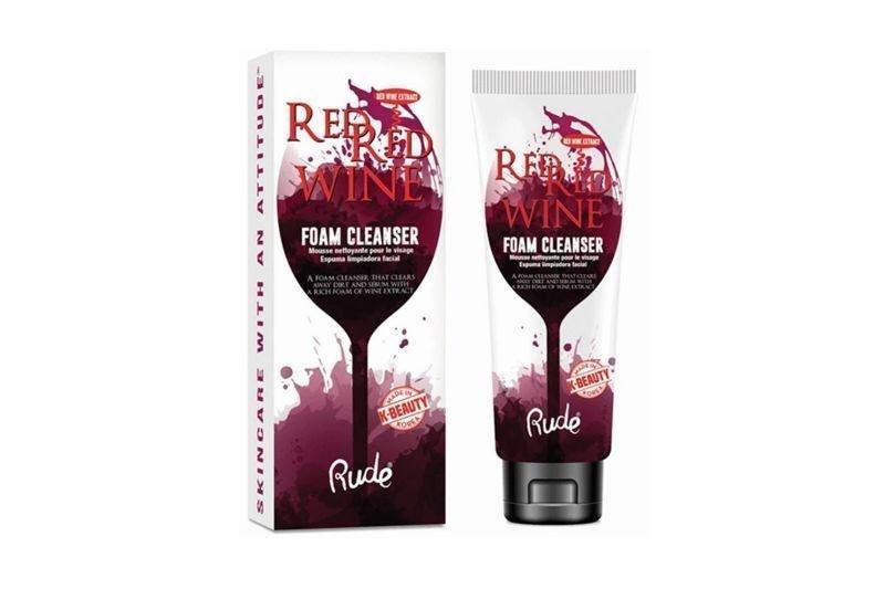 Rude Cosmetics Red Red Wine Foam Cleanser (RC-88025)