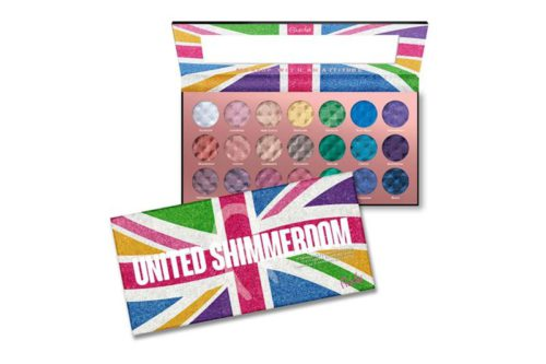 Rude Cosmetics United Shimmerdom - 21 Shimmer Eyeshadow Palette (RC-87877)