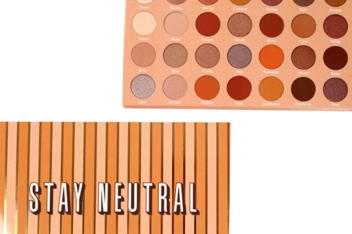 Lurella Cosmetics Eyeshadow Palette Stay Neutral