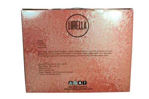 Lurella Cosmetics 15 Bulbs Vanity Mirror