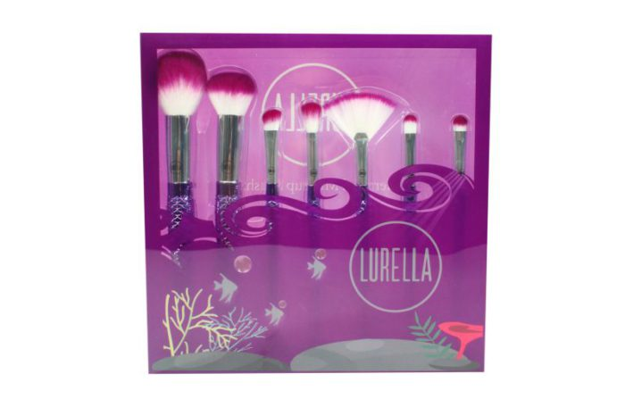 Lurella-Cosmetics-Brush-7-Piece-Set-Be-a-Mermaid