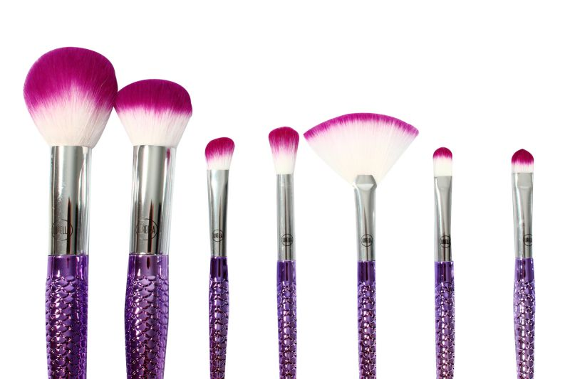 Lurella Cosmetics Brush 7 Piece Set Be a Mermaid