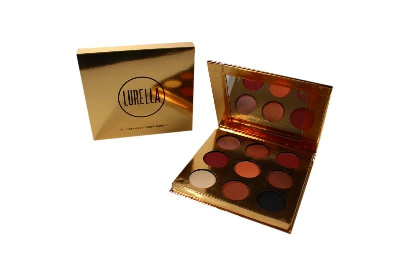 Lurella Cosmetics Eyeshadow Palette -9 Colors (9-LESP01)