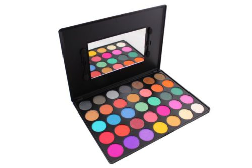 Kara Beauty Satin Eyeshadow Palette - 35 Colors (ES01)