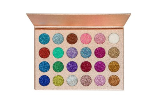 Kara Beauty Eyeshadow Palette 24 Color Galaxy Glitter (ES16)