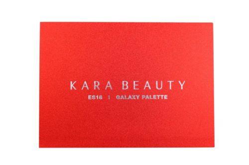 Kara Beauty Eyeshadow Palette Galaxy Red Glitter - 35 Color (ES18)