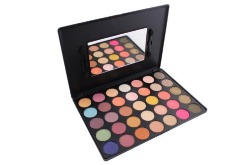 Kara Beauty Shimmer Eyeshadow Palette - 35 Colors (ES12)