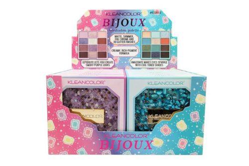 Kleancolor Bijoux Palette II - 12 Color Eyeshadow Palette Display (ES812)