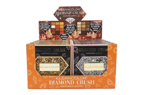 Kleancolor Diamond Crush Palette 1 - 12 Color Eyeshadow Palette Display (ES741)