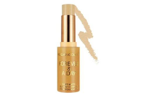 Kleancolor Forever & A Day Soft Matte, All Day Comfort Stick Foundation Dark Shades Display (SF522)