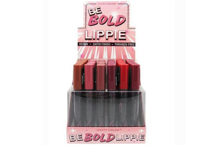 City Color Be Bold Lippie - Display
