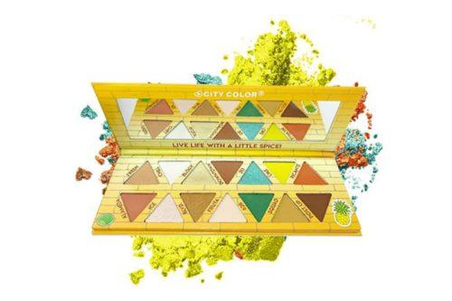 City Color La Piña Eyeshadow Palette - Display (E-0096)
