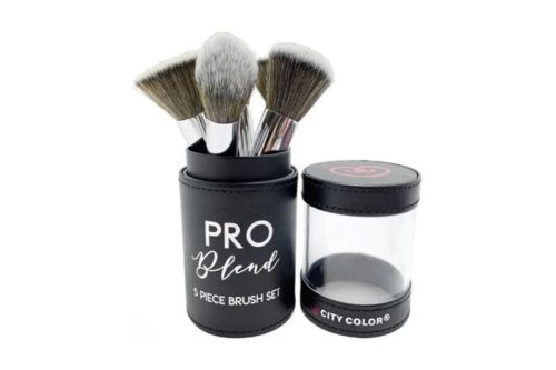 City Color Pro Blend 5 Piece Brush Set (T-0024)