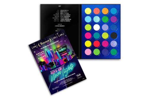 Rude Cosmetics City Of Neon Lights - 24 Vibrant Pigments & Eyeshadow Palette - (RC-87960)