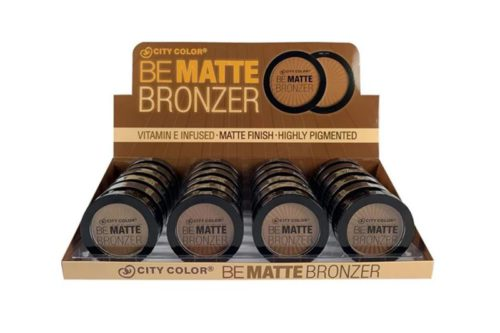 City Color Be Matte Bronzer Display (C-0034)