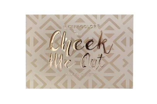 City Color Cheek Me Out Cheek Palette Display (C-0033)
