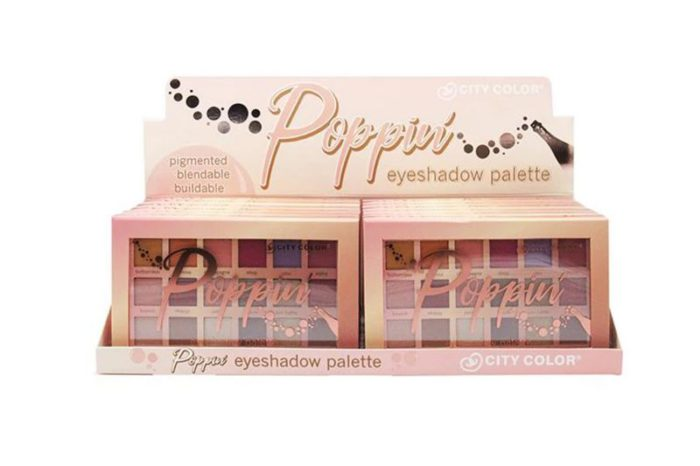 City Color Poppin Eyeshadow Palette - Display (E-0098)