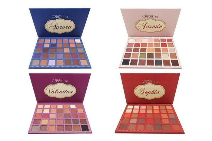 Beauty Creations 35 Color Pro Eyeshadow Palette 12 Styles Assorted Pack (AP12)