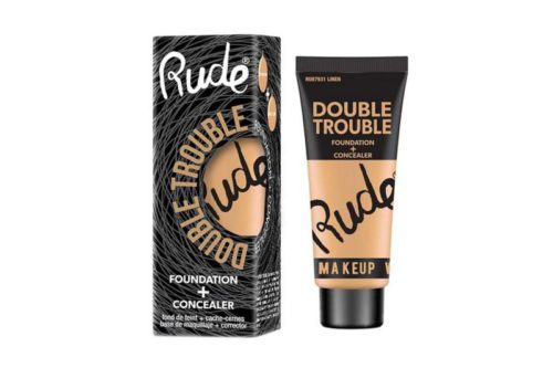 Rude Cosmetics Double Trouble Foundation + Concealer 4 Shades (RC-DTFC)