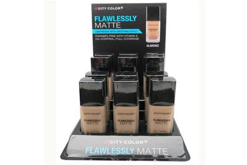 City Color Flawlessly Matte Foundation (F-0085b)