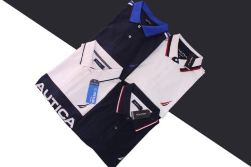 Wholesale Náutica Men's Polo Shirt Lot