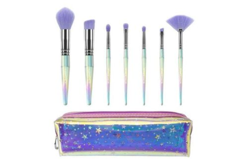 Kleancolor Star Life 7 Piece Brush Set With Cosmetic Bag (CBS7)
