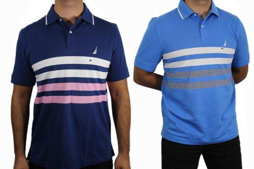 Náutica Men's Polo Shirt Lot (2) port