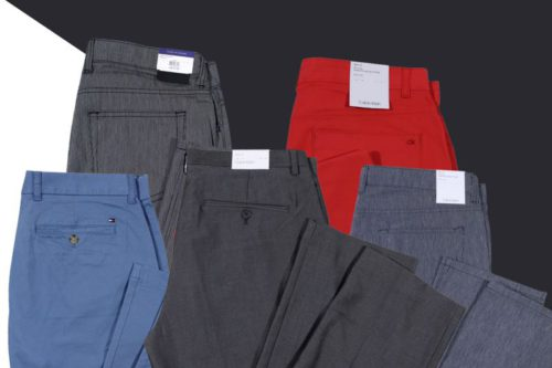 Calvin Klein and Tommy Hilfiger Pants Mix Lot For Men
