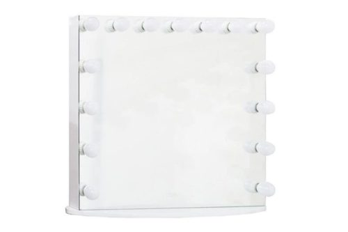 Beauty Creations Full Mirror White - Oval Base - 15Bulb - Logo (DC117-10)