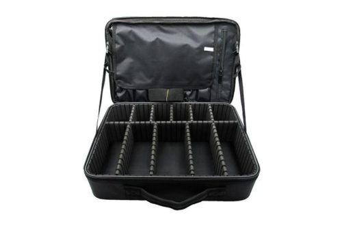 Beauty Creations Travel Beauty Case Fabric Black (PB1921)