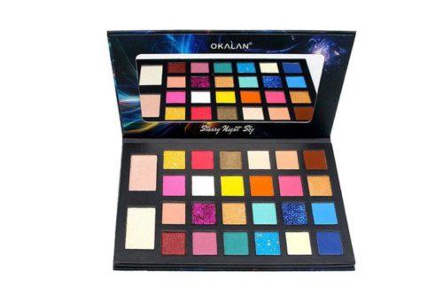 Okalan Starry Night Sky 26-Color Shadow & Highlight Palette (OKL-E104)