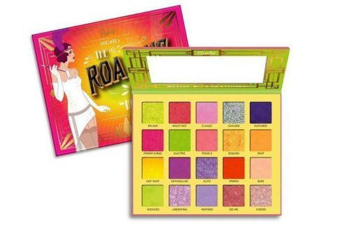 Rude Cosmetics The Roaring 20'S Eyeshadow Palette Neons (RC-88066)