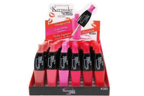 Kleancolor Keepsake Kiss Lip Tint Display (LG1821)