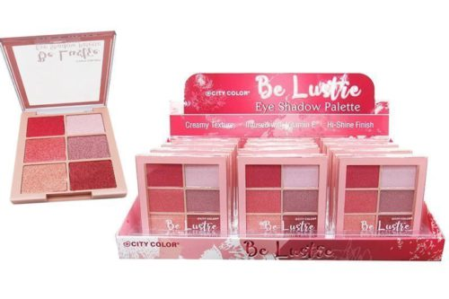 City Color Be Lustre Eyeshadow Palette Display (E-0094C)