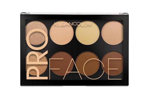 Kleancolor Pro Face Highlight & Contour Palette Display (BH1518)
